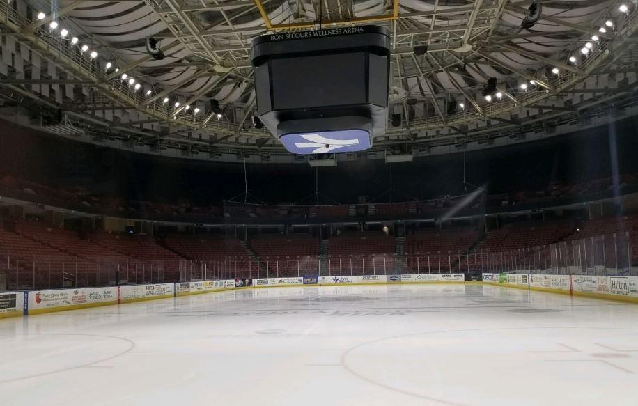 Bon Secours Wellness Center ice rink (FOX Carolina/ Dec. 26, 2017)