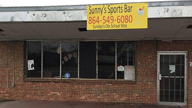 Sunny's Sports Bar (Dec. 23, 2017/FOX Carolina)