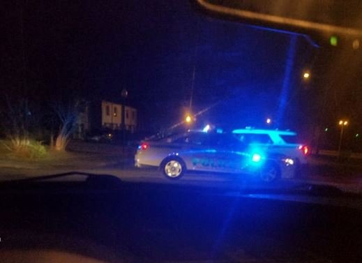 Viewer submitted photo from the scene of the shooting (Photo provided)