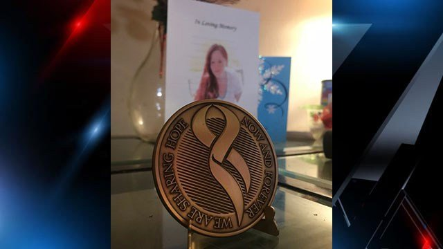 Rudy's medallion from Donate Life SC (Source: Family)