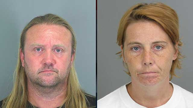 Danny Joe Cline Jr. and Tonya Darlene Turner. (Source: Spartanburg Co. Detention Center).