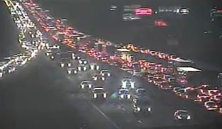 Traffic on I-85 near Pelham Road Exit. (Source: SCDOT)