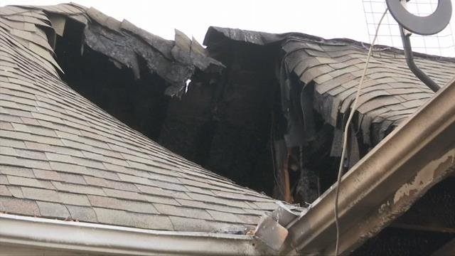 Home destroyed by fire sparked by firework. (1/2/18 FOX Carolina)