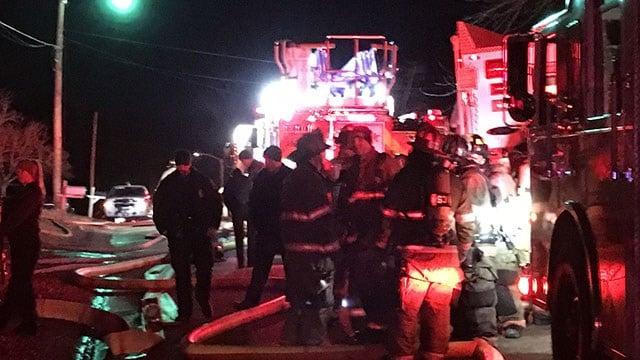 Crews respond to house fire in Spartanburg Co. (FOX Carolina/ 1/3/18)