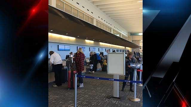 GSP Airport. (Source: FOX Carolina/Jan. 4, 2018).