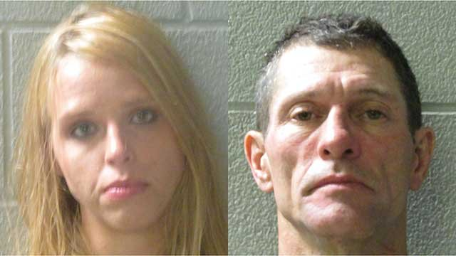 Lindsey Adair Morgan and Henry Lee Mixon . (Source: Henderson Co. Sheriff's Office).