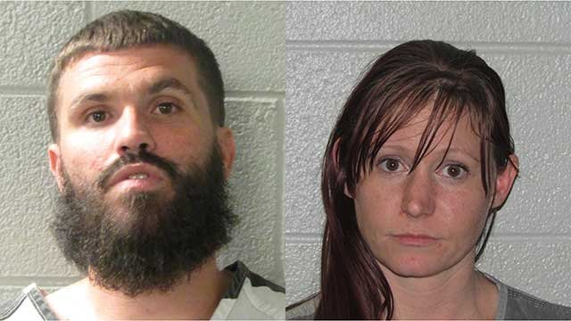 Christopher Scott Fleischer and Elizabeth Leigh Rogers. (Source: Henderson Co. Sheriff's Office).