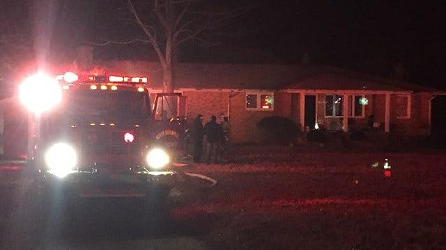 House fire on White Horse Road. (1/6/18 FOX Carolina)