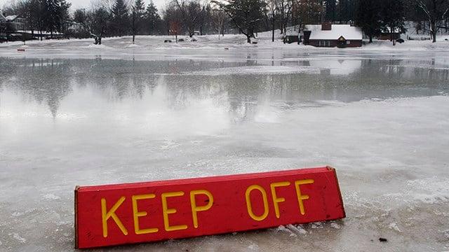 Frozen pond. (AP/file)