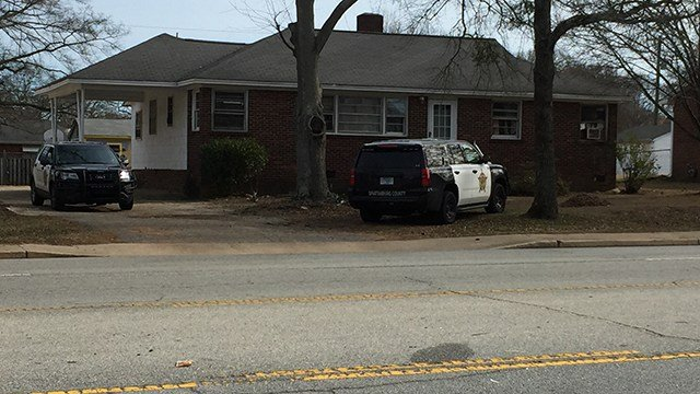 Scene of death investigation on Cedar Springs. (1/7/18 FOX Carolina)