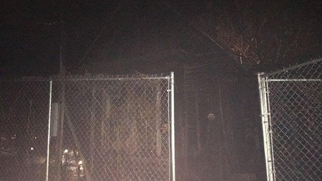 Crews respond to fire at abandoned building near The Grey Eagle music venue (FOX Carolina/ 1/7/18)