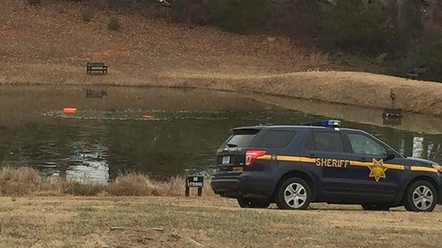 Water rescue in Travelers Rest (Jan. 8, 2018/FOX Carolina)