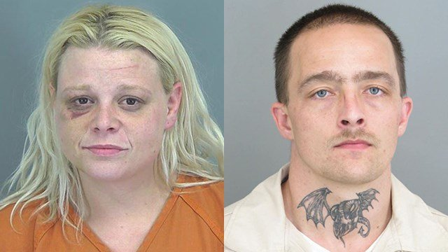 Amy Berridge (L) and Roy Sutherland (Source: Spartanburg Co. Detention Center)
