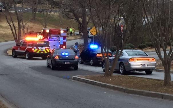 Emergency vehicles on Bent Oak Dr. (FOX Carolina)