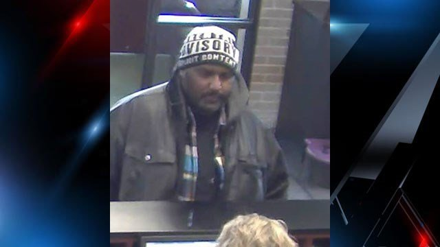 Suspect in robbery at Anderson Co. bank (Source: Anderson Co. Sheriff's Office)