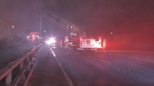 Crews on scene of structure fire (Jan. 11, 2018/FOX Carolina)