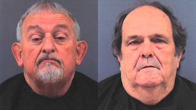 Danny Ruppe (left) and Robert Coleman (right). (Source: Cherokee County Sheriff's Office).
