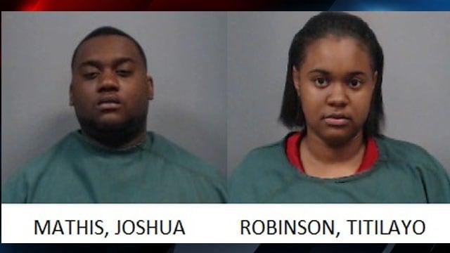 Joshua Mathis and Titilayo Robinson (Source: NCSO)