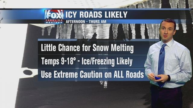 Isaac: Snow winds down, but ice threat lingers