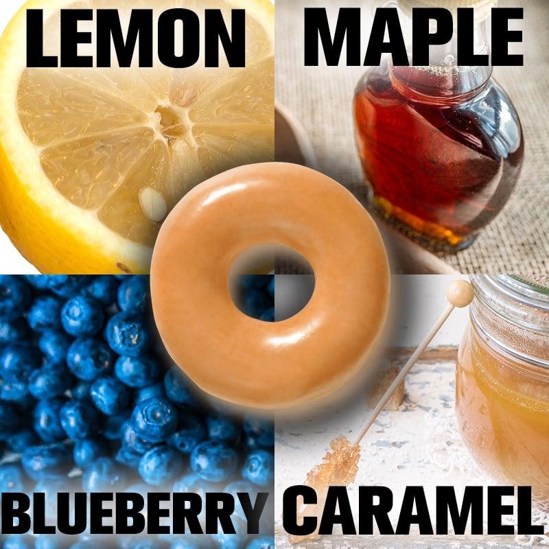 Glaze doughnut flavors