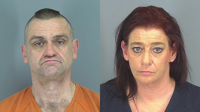 Christopher Lee Cox (left) and Michelle Bates Cox (right) (Source: Spartanburg County Sheriff's Office)