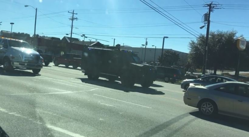 SWAT responds to Anderson shooting (Source: Chris Youngblood)