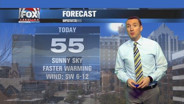 Isaac: Frigid starts but temps head into 50s Friday