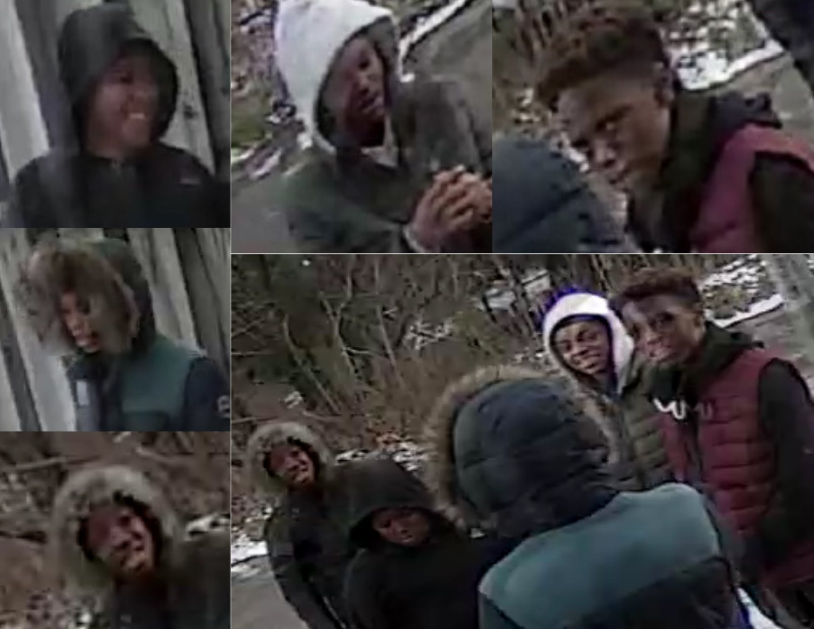 Screen shot of surveillance video (Source: BPD/ YouTube)