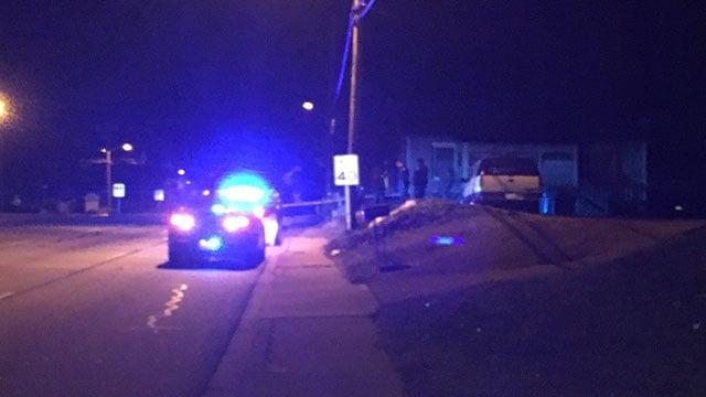 Police on scene after gunshot victim found along Rutherford Road (FOX Carolina/ 1/19/18)