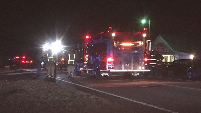 Pedestrian airlifted to hospital after struck by vehicle along Liberty Hwy (FOX Carolina/ 1/20/18)