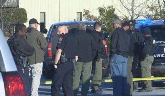 Scene of deputy-involved shooting in Woodruff. (1/21/18 FOX Carolina)