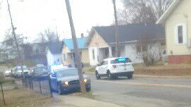 Scene of investigation on Beech Street. (Source: Eyewitness)