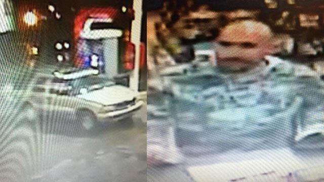 Vehicle and person of interest (Source: Sheriff Steve Mueller)