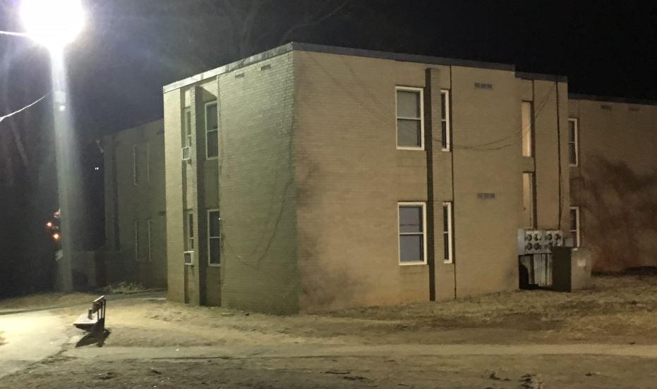 Aston Park Garden Apartments (FOX Carolina/ Jan. 24, 2018)