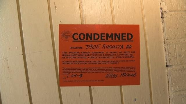 The motel was condemned after an inspection (1/24/18)