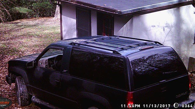 Suspect vehicle in breaking and entering and larceny in Buncombe Co. (FOX Carolina/ 1/24/18)
