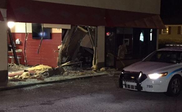Close up of the damage (FOX Carolina/ Jan. 25, 2018)