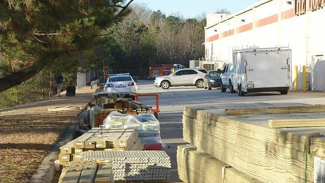 Death investigation behind Home Depot (FOX Carolina/ Jan. 25, 2018)