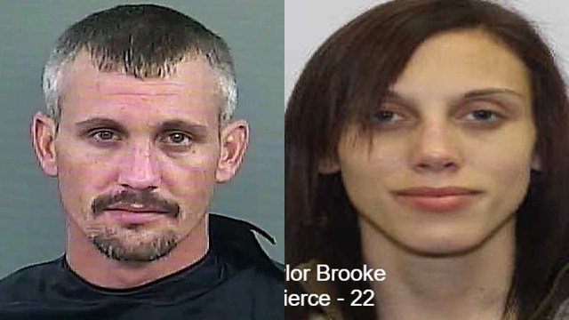 Nicholas Blake Phillips and Taylor Brooke Pierce (Source: Anderson Co. Sheriff's Office)
