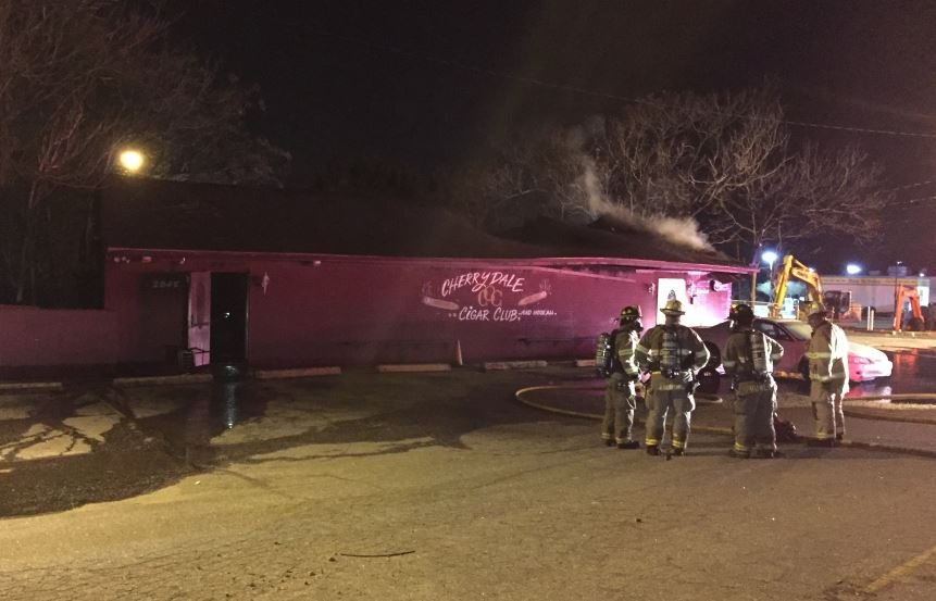 Firefighters on scene (FOX Carolina/ Jan. 26, 2018)