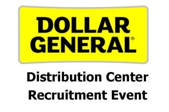 Dollar General recruitment events (Source: SC Works)