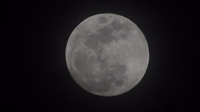 Super Moon on Tuesday. (1/30/18 FOX Carolina)