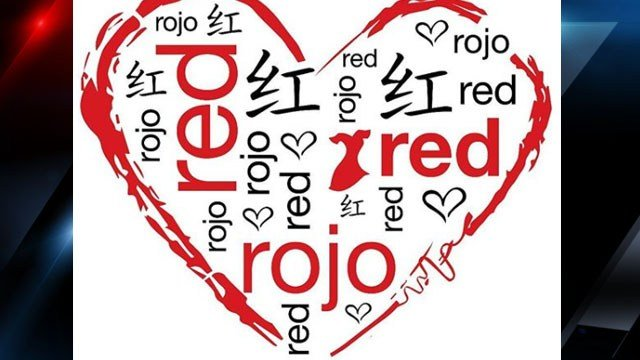 Wear Red Day banner (Source: American Heart Association)