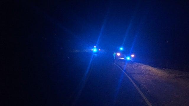 Scene of officer-involved shooting in Buncombe Co. (FOX Carolina/ 2/1/18)