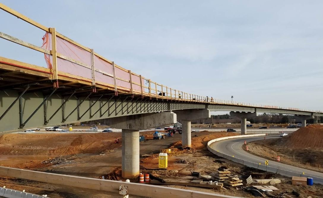 New bridge construction (Courtesy: Gateway Project)