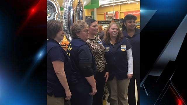 Laurens Walmart celebrates its 30th birthday.