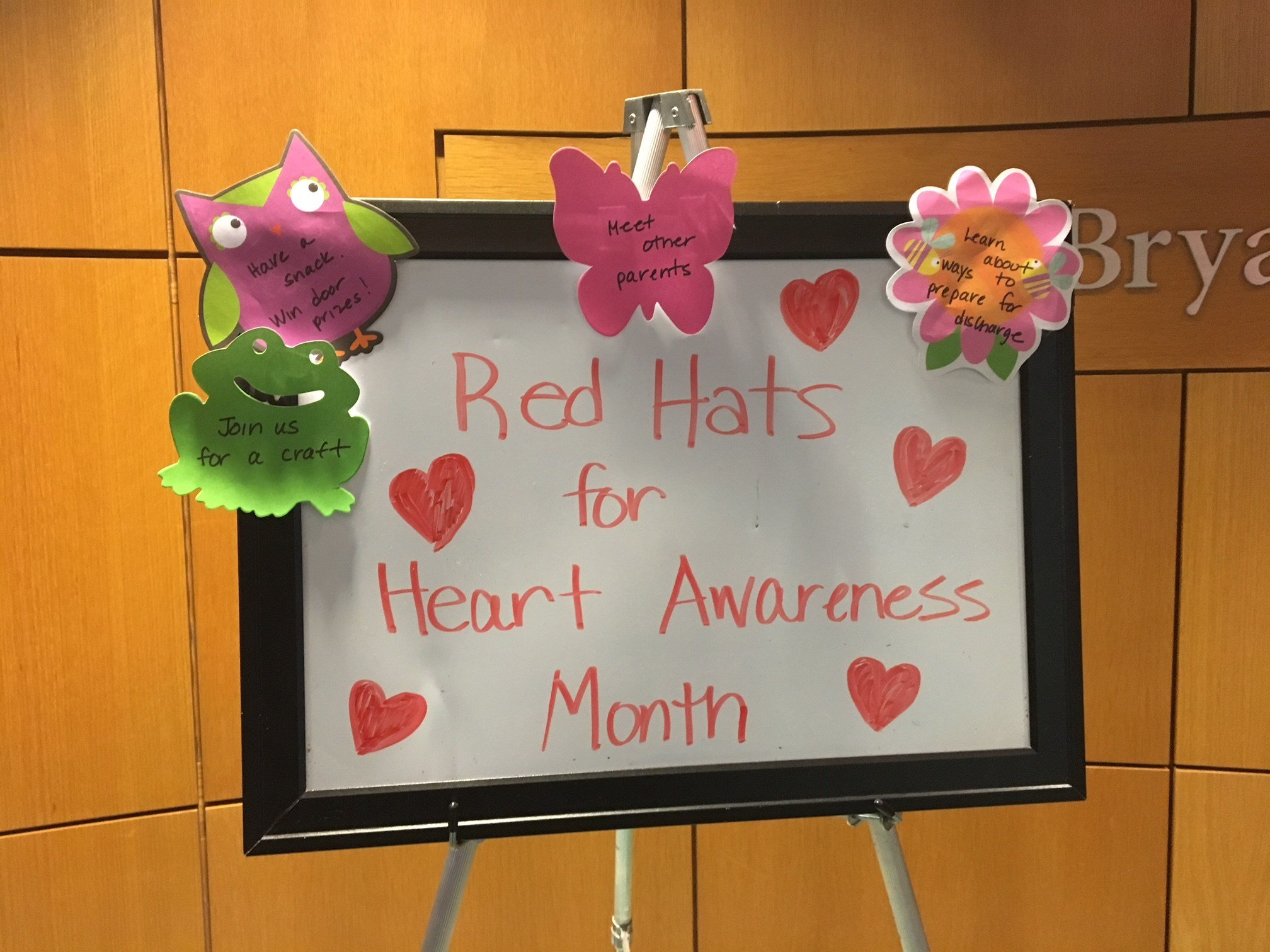 Greenville Memorial Hospital giving out red hats for Heart Association Month (FOX Carolina: 2/2/18).