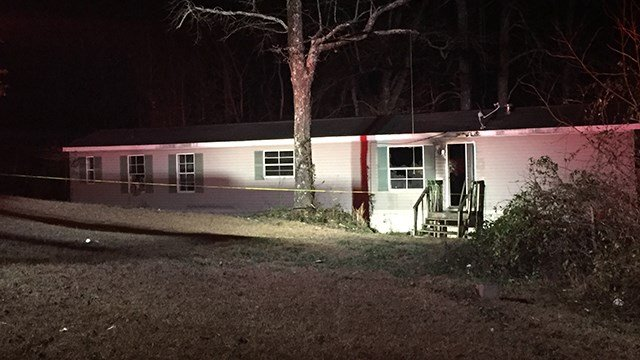 Mobile home fire on Glassy Road. (2/4/18 FOX Carolina)