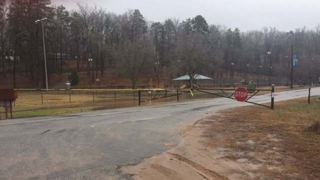 Flooding shuts down Cleveland Park and Swamp Rabbit Trail. (2/4/18 FOX Carolina)