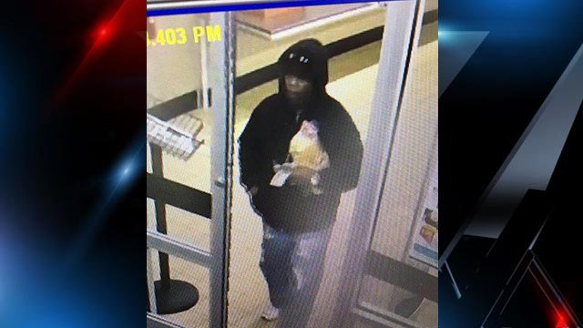 Deputies are looking for this suspect they say robbed an ALDI in Greenwood Co. (Source: GCSO)